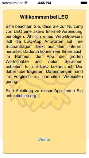 leo org app ipad